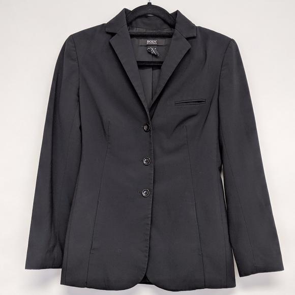 Victoria's Secret Jackets & Blazers - body by victoria | black three button blazer sz 2
